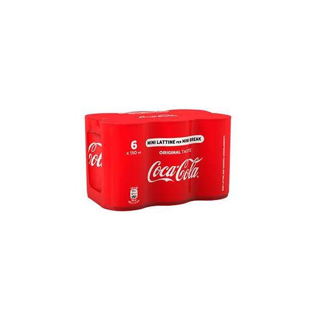 Кока Кола кен 150 мл кен Coca-Cola HBC Italia