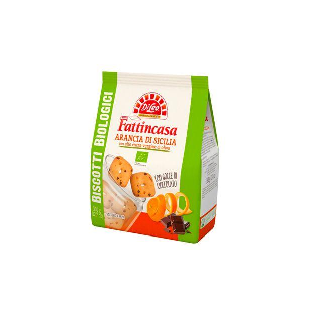 Бисквити с Портокалови корички 360гр. БИО ди Лео