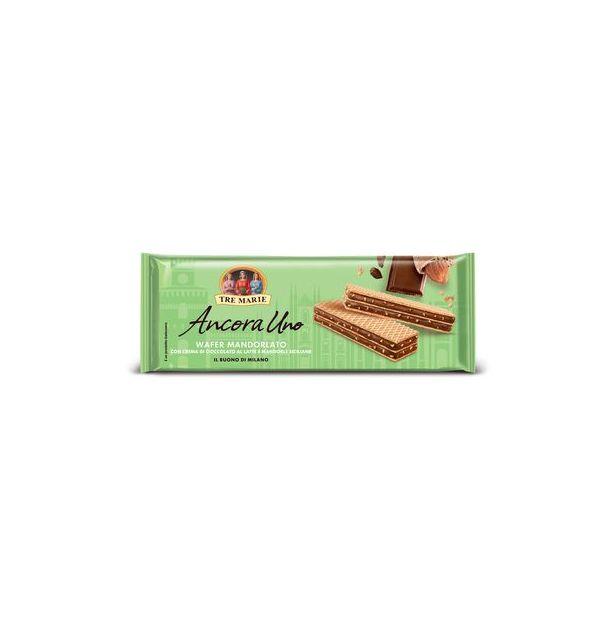 ТРЕ МАРИЕ Вафли с млечен шоколад и бадеми 140гр.