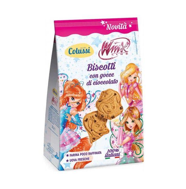 Бисквити с капки Шоколад WINX 300 гр. Колуси