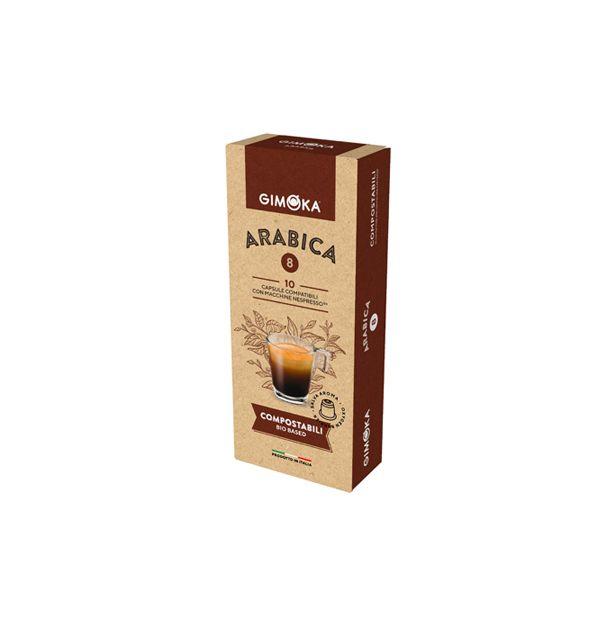 Кафе Gimoka Арабика капсули х10 Неспресо