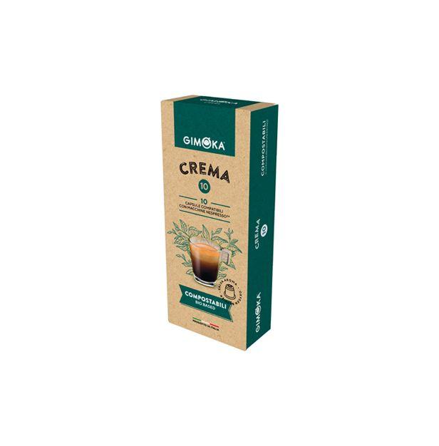 Кафе Gimoka Крема капсули х10 Неспресо