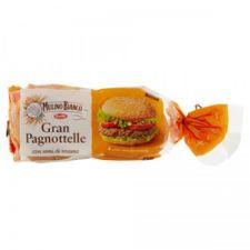 Бургер със сусам Gran Pagnottelle х4 300гр.Molino Bianco