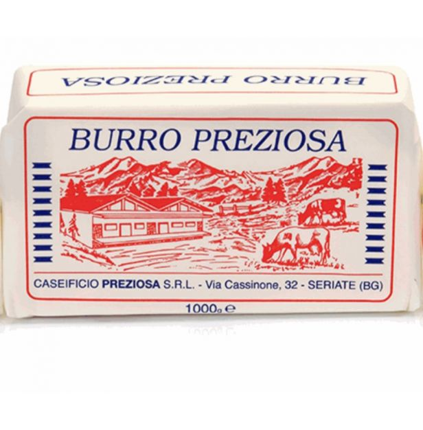 Масло Прециоза 1000 гр. CASEIFICIO PREZIOSA