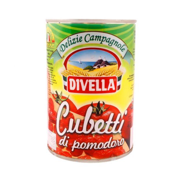 Дивела домати на кубчета 400 гр.