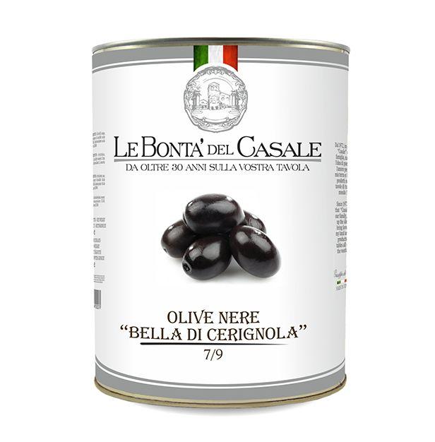 """Черни маслини """"Бела ди Чериньола"""" 4100 мл. DISPAC"""