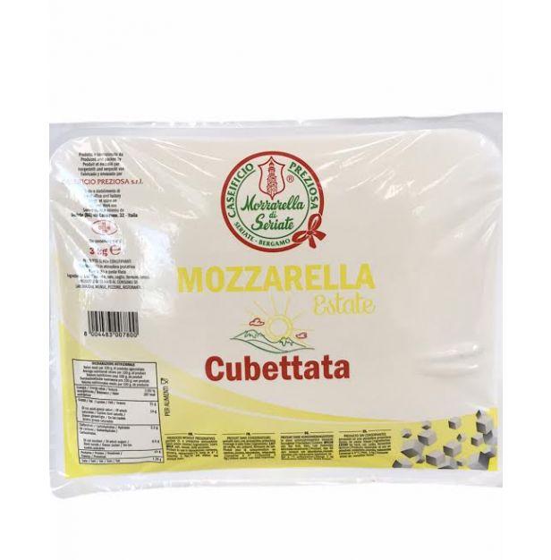 Моцарела за пица на кубчета 3кг.