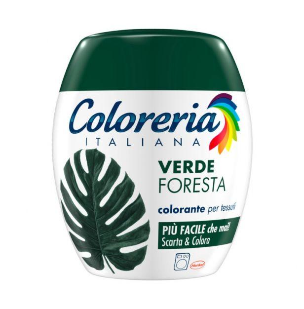Оцветител за дрехи - Тъмно Зелено 350гр. COLORERIA