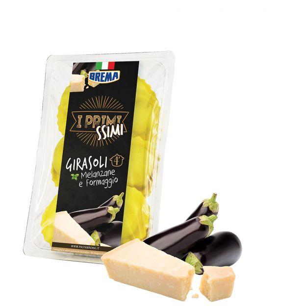Джирасоли с патладжан  и сирене 250 гр. BREMA