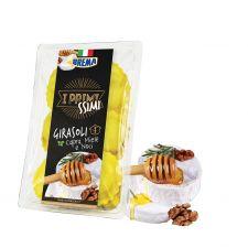 Джирасоли с козе сирене, мед, орехи и стафиди 250 гр.
