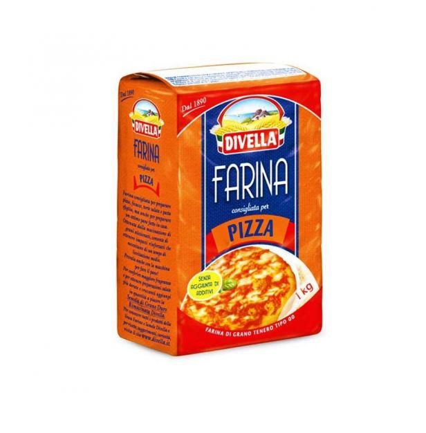 Брашно за пица 1кг. Дивела
