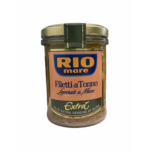 Филе от риба тон в зехтин екстравърджин 180гр.RIO MARE