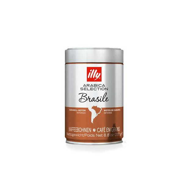 ILLY на зърна 250 гр.BRASIL MONOARABICA