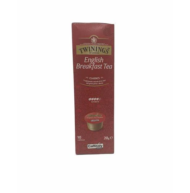 Чай на капсули TWININGS ENGLISH BREAK  TEA 10 бр. x 20 гр.