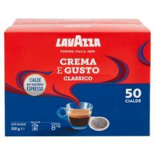 Хартиени дози кафе Лаваца Крема и густо х50 350гр.