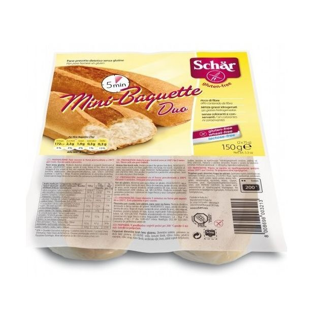 Мини багети Schar 150g.