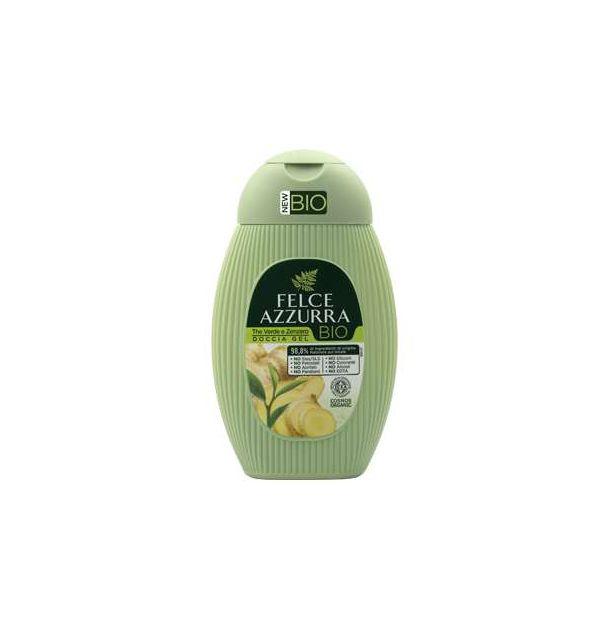 Био душ гел със зелен чай и джинджифил 250 мл. FELCE AZZURRA
