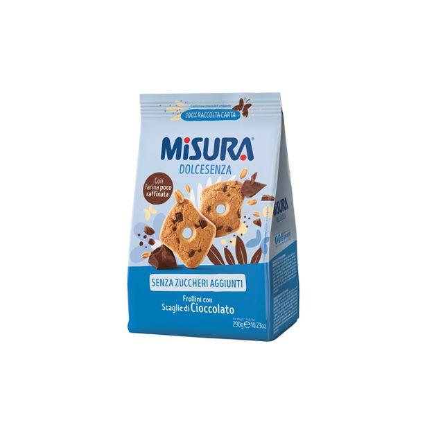 Бисквити без захар с шоколад 290гр.MISURA
