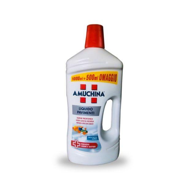 Препарат за под лимон с дезинфектант 1500 мл AMUCHINA