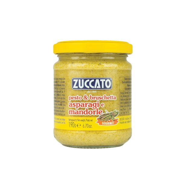 Песто с аспержи и бадеми 190 гр. ZUCCATO