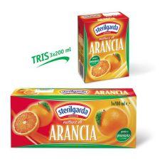 Сок Портокал 3х200мл. Стерилгарда