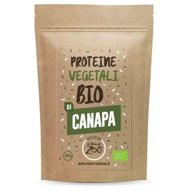 Растителен протеин от Коноп БИО 100гр ZOE