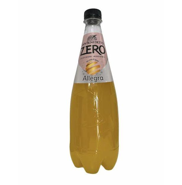 Безалкохолна напитка портокал без захар 750 мл. SAN BENEDETTO