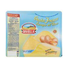 Кори за лазаня с яйца 250 гр. DIVELLA