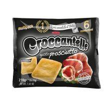 Крекери на фурна със зехтин и вкус на прошуто  х 6 -  210 гр.