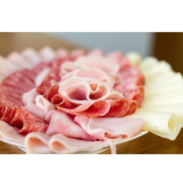 Плато с деликатесни колбаси 400 гр.