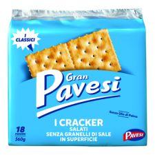 Крекери Pavesi с фина сол 560 гр. Мулино Бианко
